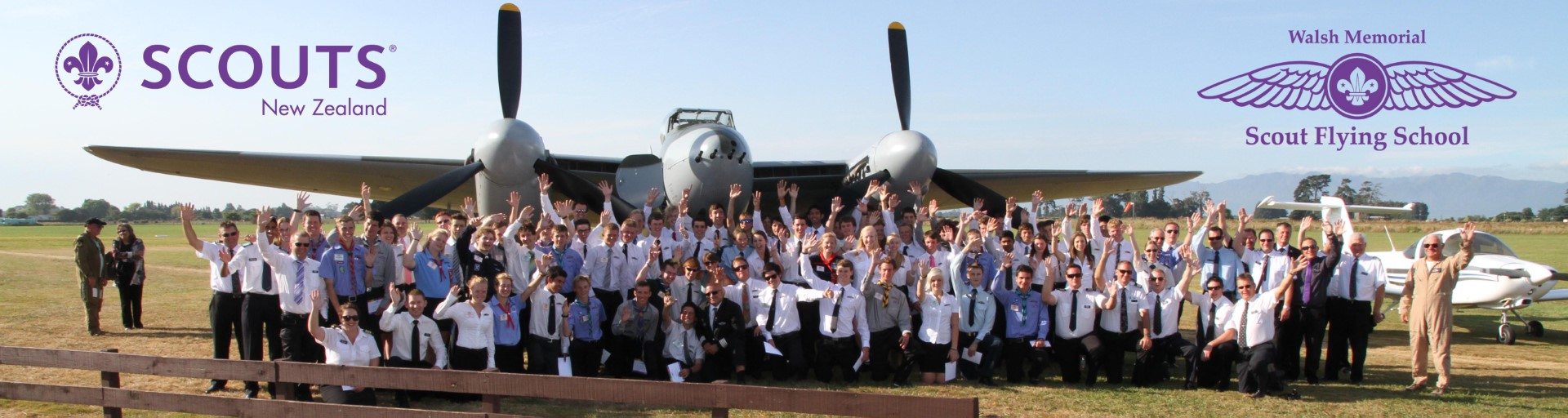 54th Walsh Memorial Scout Flying School 2020 - SCOUTS New Zealand