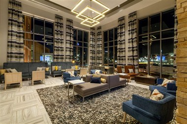 Cambria Pittsburgh - Lobby at Night