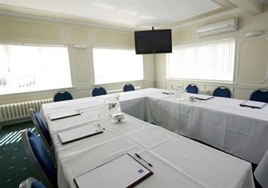 Meeting Room with U-Shaped Setup
