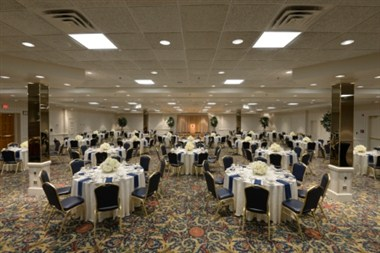 The Grand Ballroom Set Banquet Style