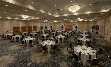Crystal Ballroom Set in Banquet Rounds