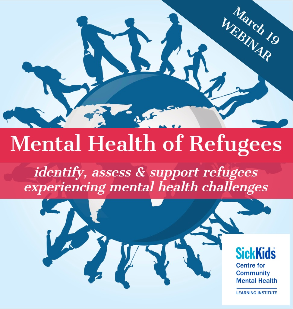 Mental Health of Refugees: Identify, Assess and Support Refugees Experiencing Mental Health Challenges