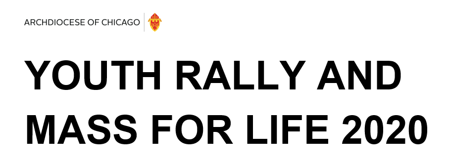 Youth Rally and Mass for Life 2020