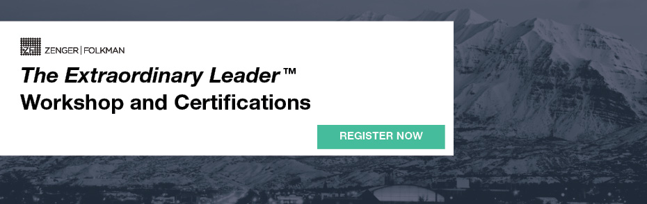 The Extraordinary Leader Workshop & Certification, March 24-27, 2020, UT