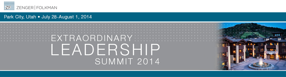 Zenger Folkman's 5th Annual Extraordinary Leadership Summit