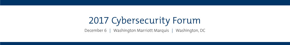 2017 Cybersecurity Forum Sponsorship