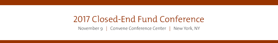 2017 Closed-End Fund Conference Sponsorship