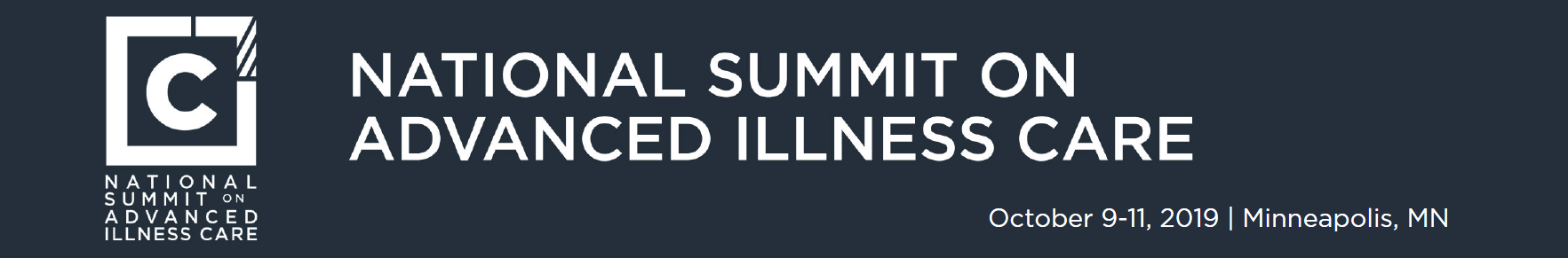 2019 National Summit on Advanced Illness Care