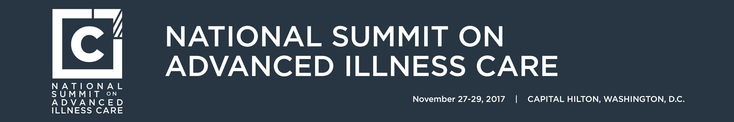 2017 National Summit on Advanced Illness Care
