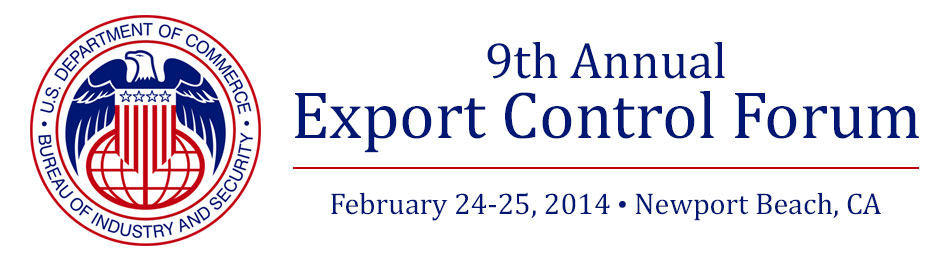 9th Annual Export Control Forum