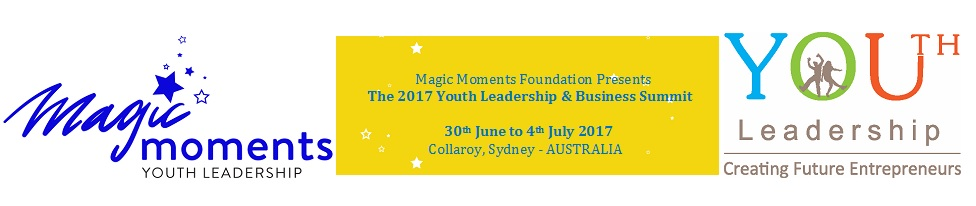 Magic Moments Youth Leadership & Business Summit 2017