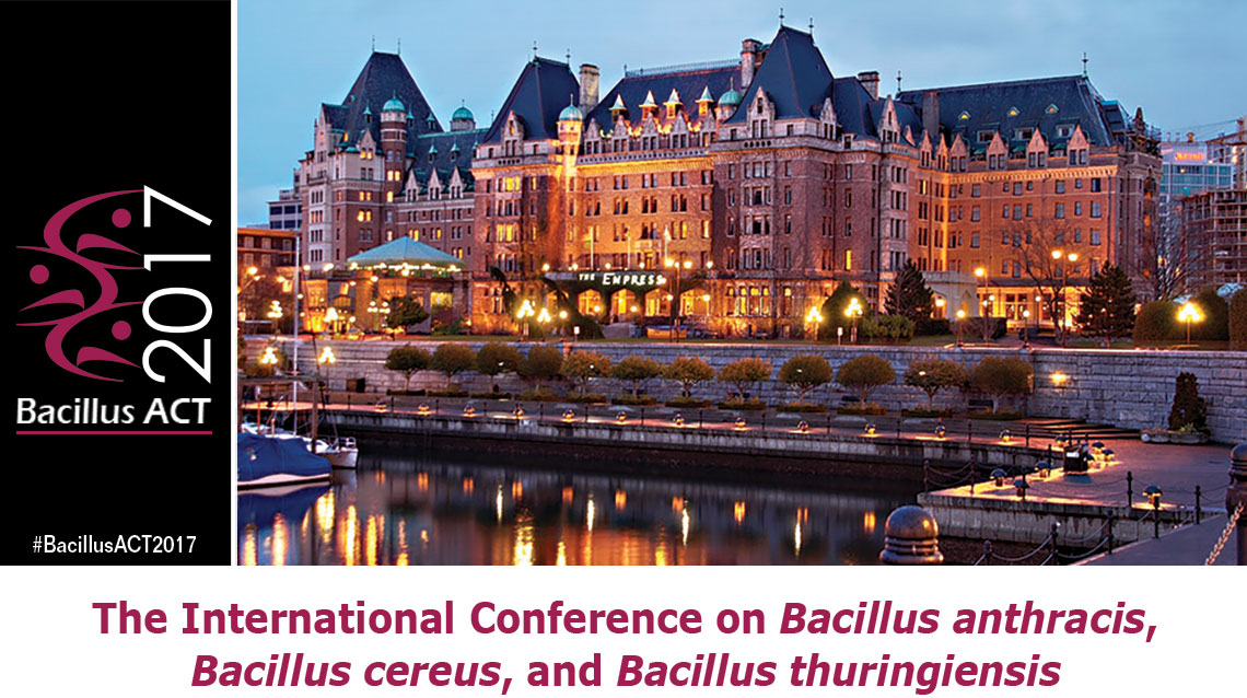 The International Conference on Bacillus anthracis, B. cereus, and B. thuringiensis