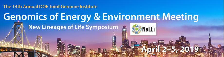 2019 - 14th Annual DOE Joint Genome Institute Genomics of Energy & Environment Meeting