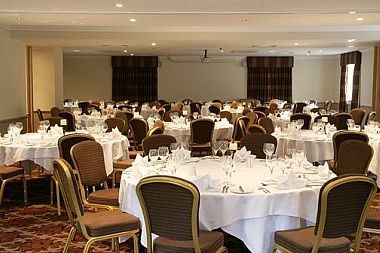 Dining in the Frimley Suite