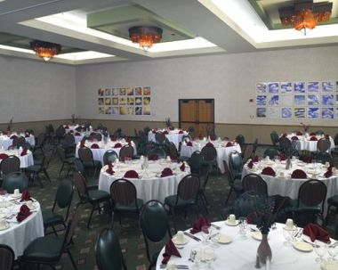 Conference Banquet Set-Up