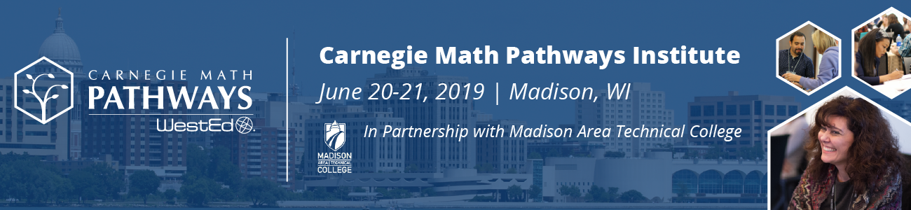 Carnegie Math Pathways Institute in Partnership with Madison Area Technical College