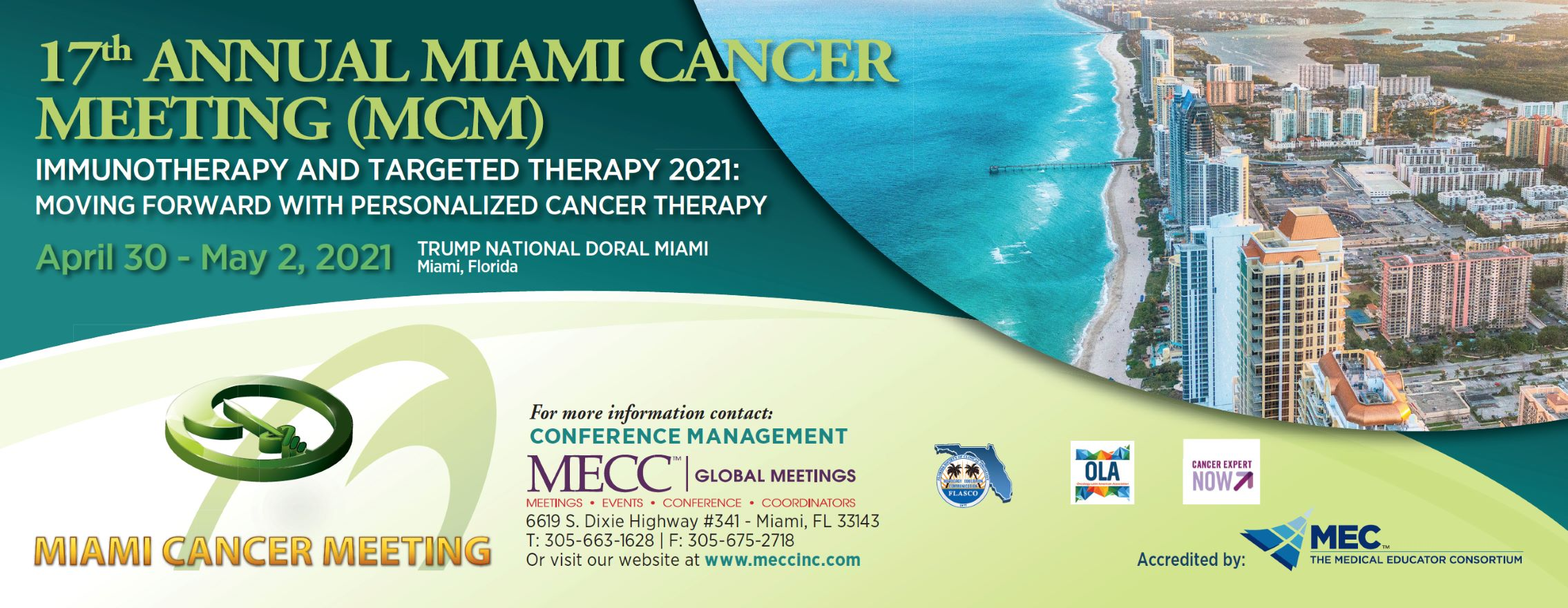 17th Annual Miami Cancer Meeting (MCM)