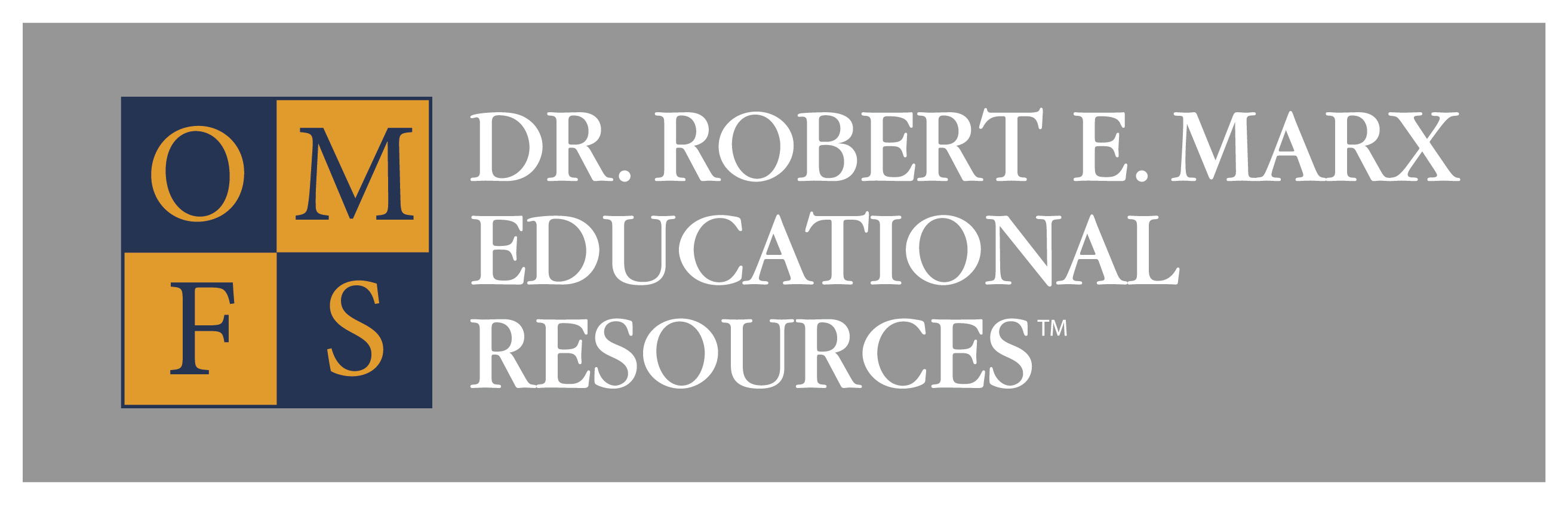 Dr. Robert E. Marx Educational Resources