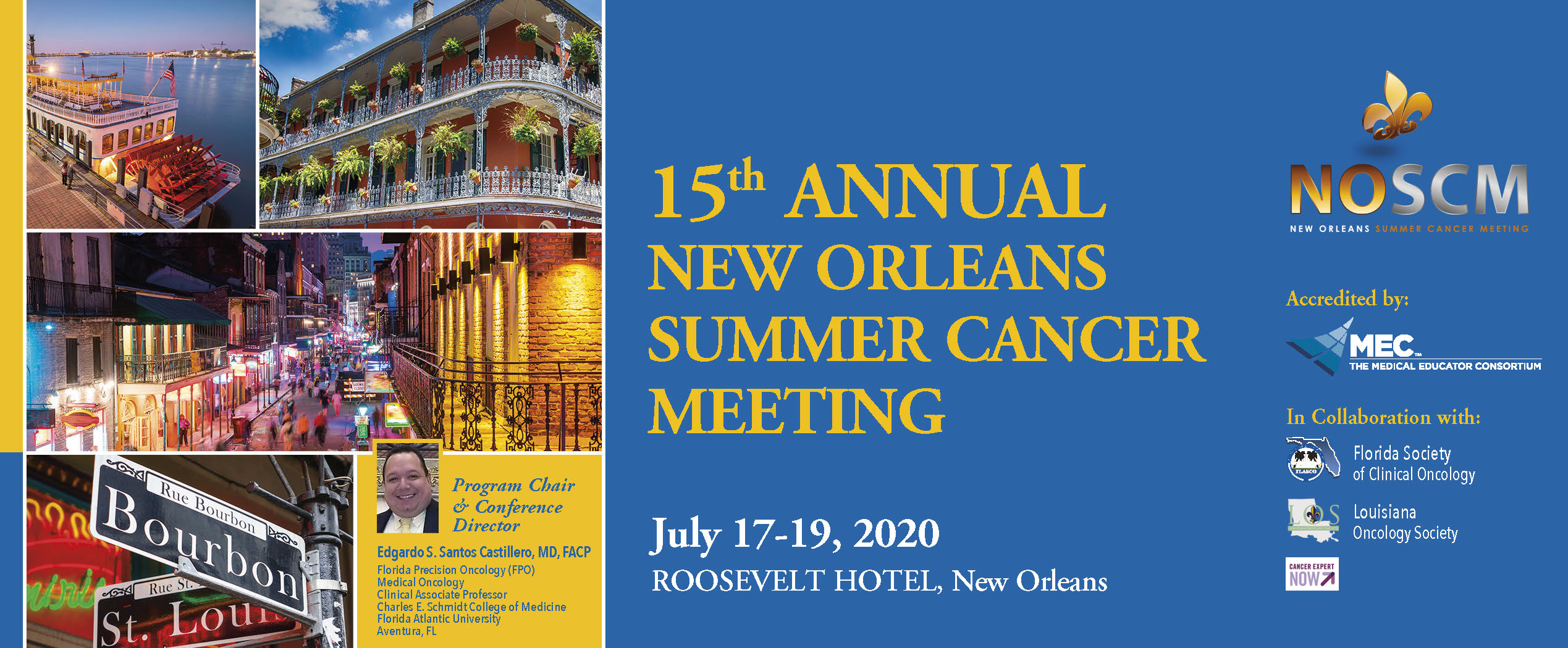 15th Annual New Orleans Summer  Cancer Meeting (NOSCM)