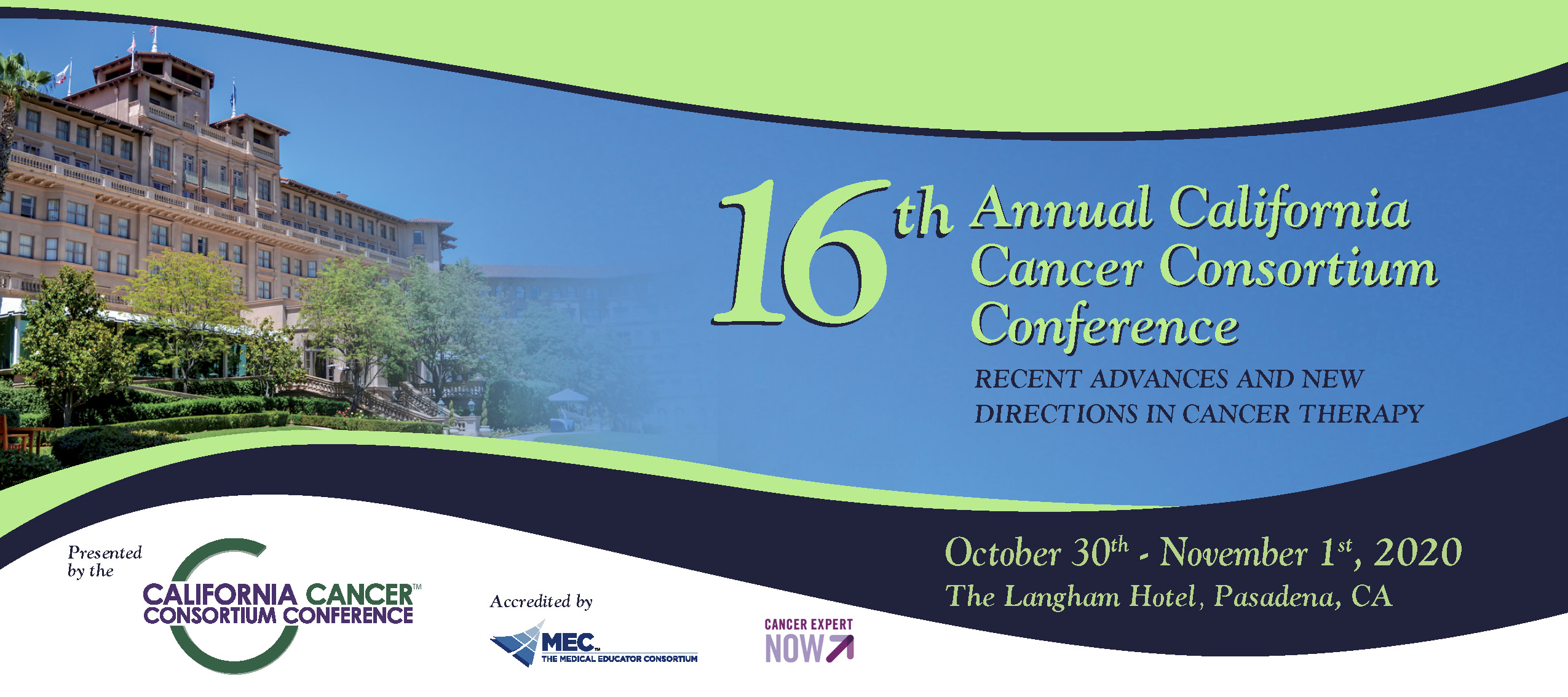 16th California Cancer Consortium Conference
