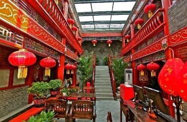 Imperial Courtyard Room