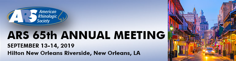 65th Annual Meeting of the ARS (ARS at AAO)
