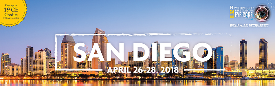 New Technologies & Treatments in Eye Care San Diego 2018