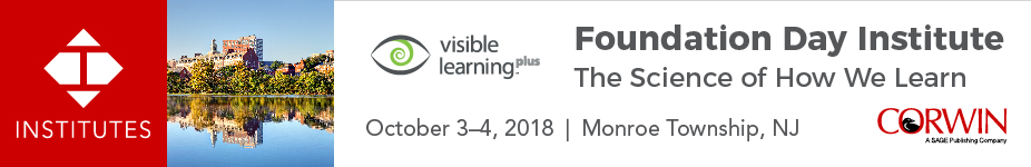 New Jersey Visible Learning and the Science of How We Learn Institute