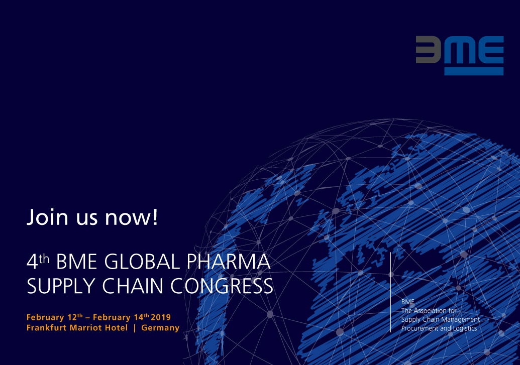 4th BME Global Pharma Supply Chain Congress