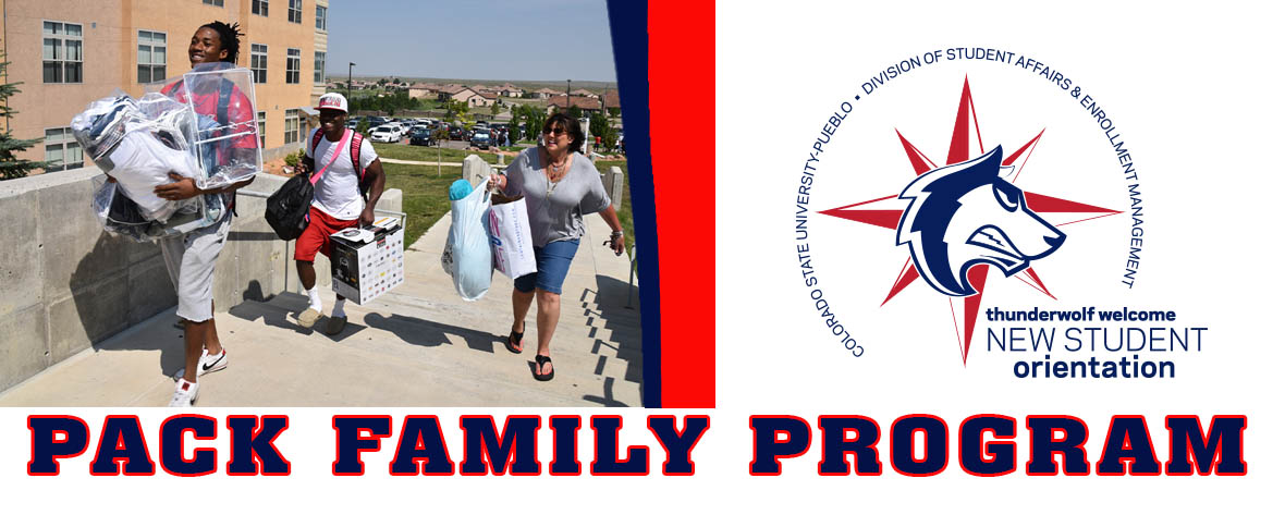 JULY 28 - CSU-Pueblo Pack Family Orientation