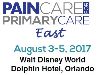 2017 Pain Care for Primary Care (PCPC) East