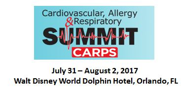 2017 Cardiovascular, Allergy and Respiratory Summit (CARPS)