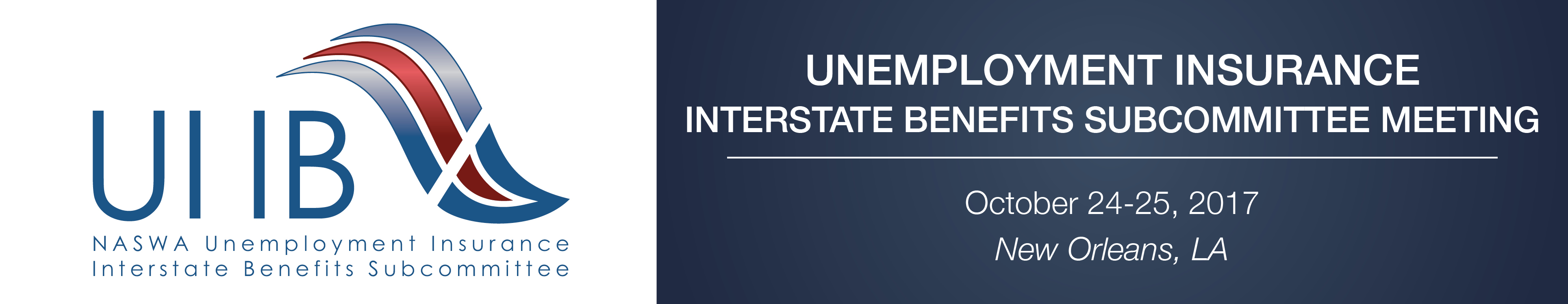Unemployment Insurance Interstate Benefits Subcommittee Meeting (Oct. 2017)