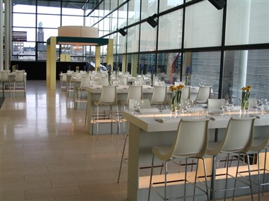 Exhibition & catering area Willem Burger Complex