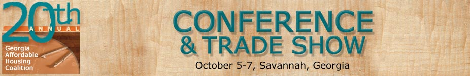 20th Annual Georgia Affordable Housing Coalition Conference and Trade Show