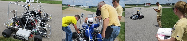 Electric Go Kart Summer Camp