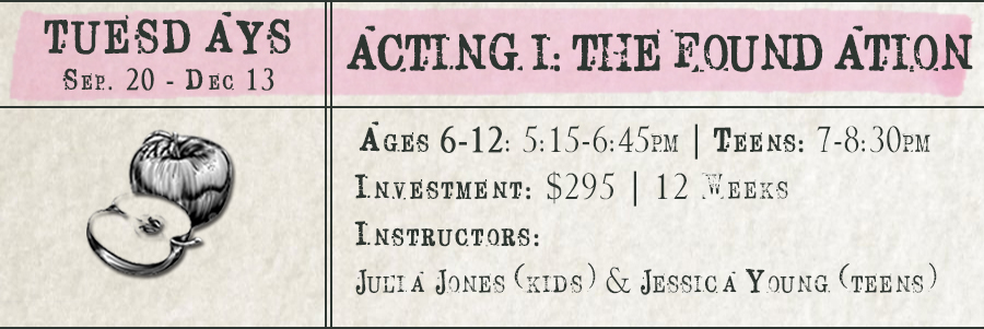 Acting 1: The Foundation