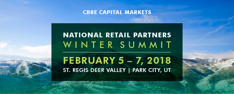 CBRE 2018 National Retail Partners Winter Summit