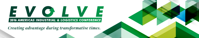 CBRE Americas 2016 Industrial & Logistics Conference