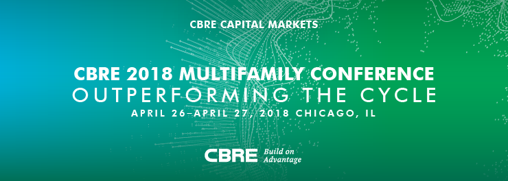 2018 CBRE Multifamily Conference