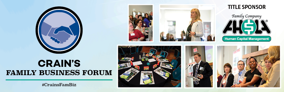 Crain's 2018 Family Business Forum