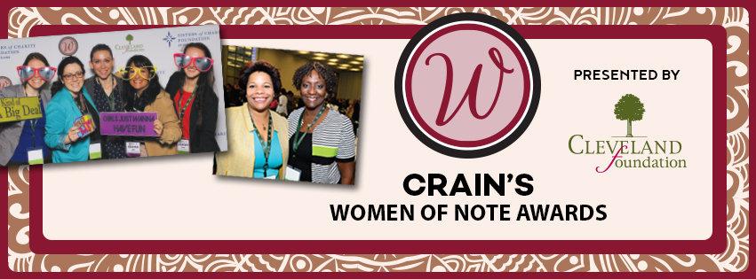 2017- Crain's Women of Note Awards
