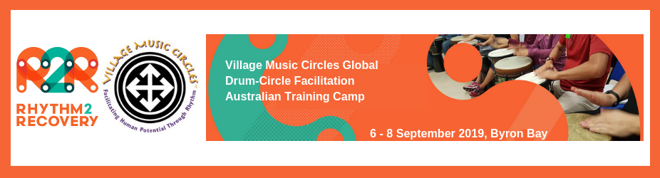 Village Music Circles Drum-Circle Facilitation Australian Training Camp 2019