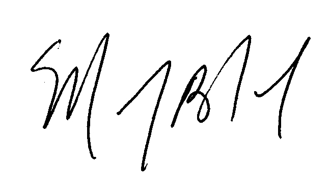 Marty Signature