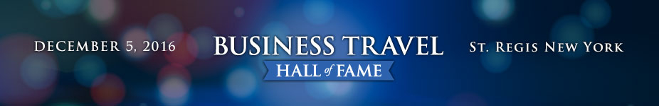 2016 Business Travel Hall of Fame
