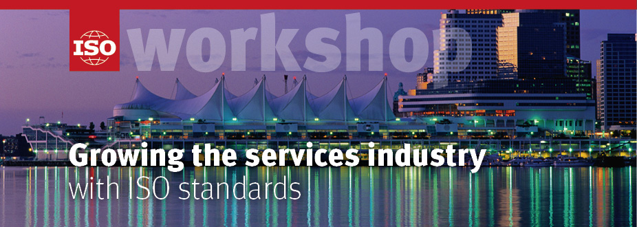 Growing the services industry with ISO standards