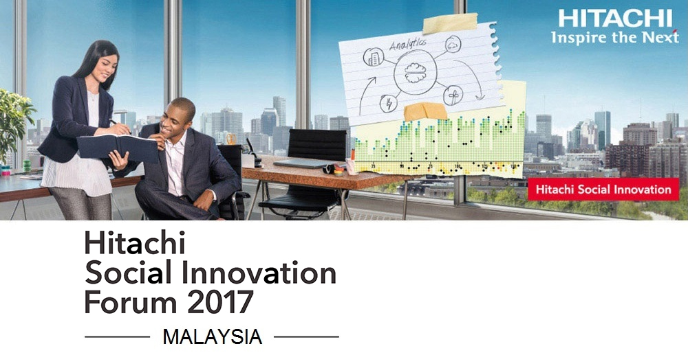 Hitachi Social Innovation Forum 2017 in Malaysia