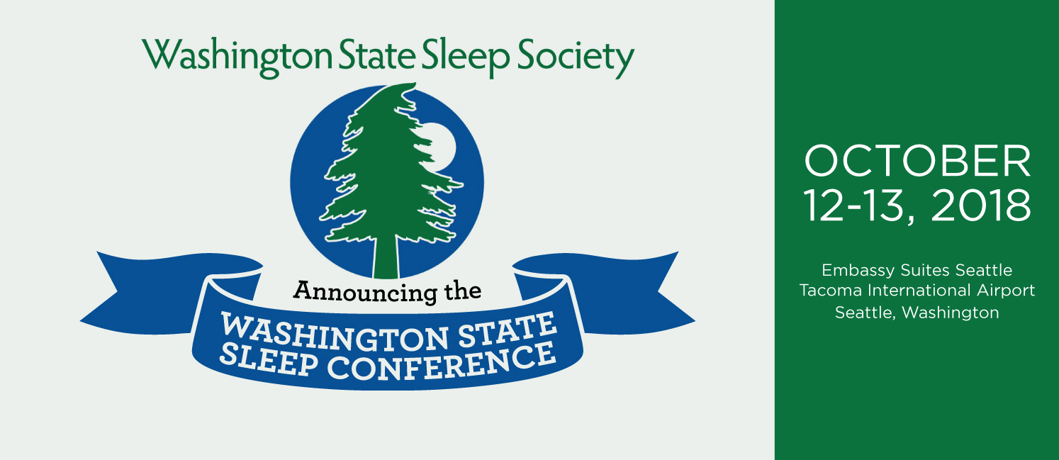 2018 Washington State Sleep Conference