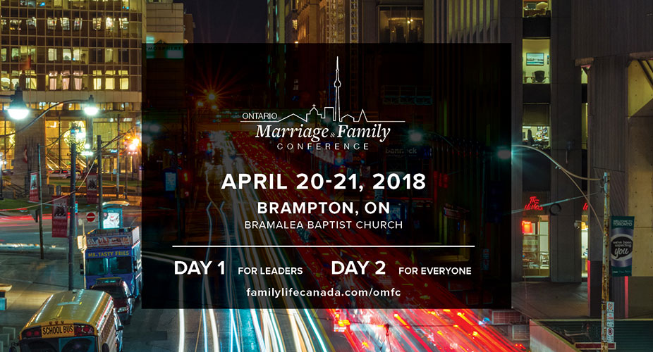 Ontario Marriage and Family Conference 2018