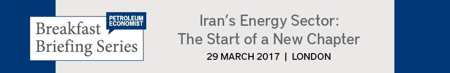 Petroleum Economist Iran Energy Breakfast Briefing